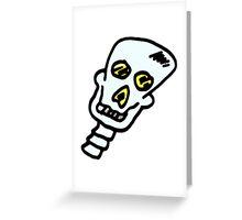 Skull boy 1 Greeting Card
