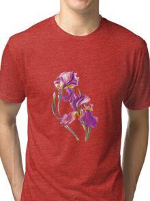 Irises-1 Tri-blend T-Shirt
