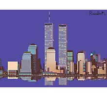 Memoirs of the World Trade Center Photographic Print