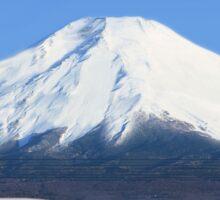 Mount Fuji and the Bullet Train JR 500, Japan Sticker