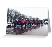 Cavalry Greeting Card