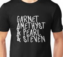 Garnet, Amethyst & Pearl & Steven Unisex T-Shirt