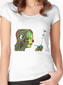 graphic Women's Fitted Scoop T-Shirt