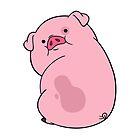 Waddles the Pig by emdizio