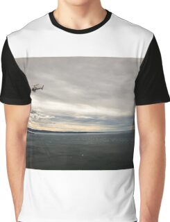 windy day in the gulf of trieste Graphic T-Shirt