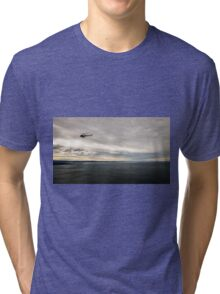 windy day in the gulf of trieste Tri-blend T-Shirt
