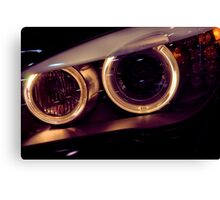 BMW Dynamic Xenon Canvas Print