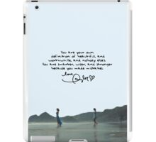 Out Of The Woods Music Video II iPad Case/Skin