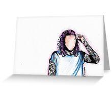 Punk H Greeting Card