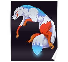 Icefury the Wolf of Fire and Ice Poster