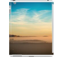 foggy sunset in the bay of Trieste iPad Case/Skin