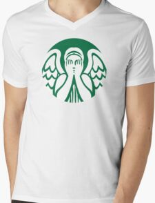Starbucks Mens V-Neck T-Shirt