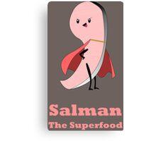 Salman, the Superfood Canvas Print