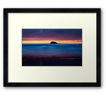 the layer cake Framed Print