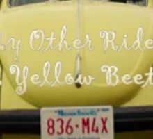 My other ride Sticker