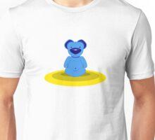 Benjamin, The Bear - Lotus Pose Unisex T-Shirt