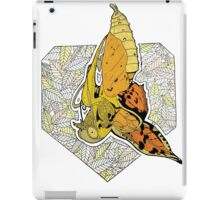 New beginnings- butterfly emerging from a chrysalis iPad Case/Skin