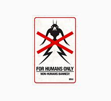 "District 9 ""For Humans Only"" Unisex T-Shirt"