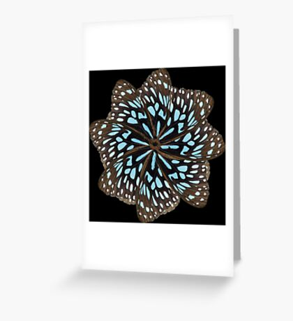 Wing mill - butterfly wings 3 Greeting Card