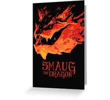 Smaug - The Dragon Greeting Card