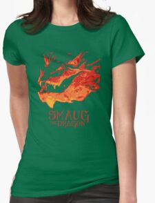 Smaug - The Dragon Womens Fitted T-Shirt