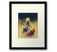 The Legend Of Zelda-Skyrule Framed Print