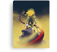 The Legend Of Zelda-Skyrule Canvas Print