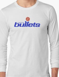 DEFUNCT -CAPITAL BULLETS Long Sleeve T-Shirt