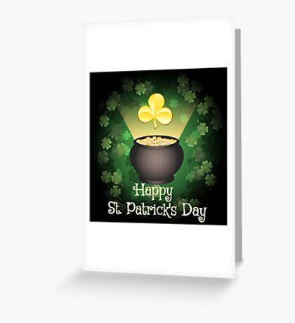 Happy Saint Patricks Day  Greeting Card