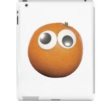 Googly-Eyed Orange iPad Case/Skin