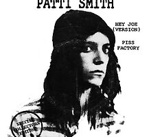 Patti Smith Lp by AnneThornton