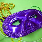 Mardi Gras Mask 1 by WildestArt