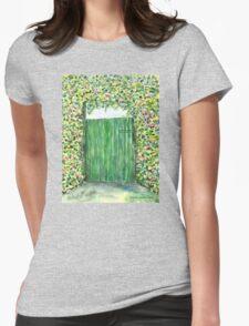 Green Door Womens Fitted T-Shirt