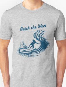 Surfer riding big wave  T-Shirt