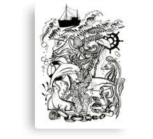 Sea World by benocsart Canvas Print