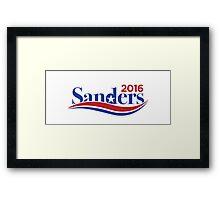 Bernie Sanders 2016 Campaign Framed Print