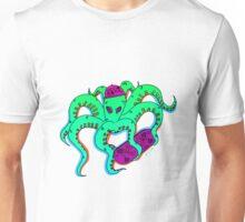 Weird Squid Skateboarding Unisex T-Shirt