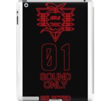 SEELE Red 01 Keel Lorenz Logo Evangelion Graphic iPad Case/Skin