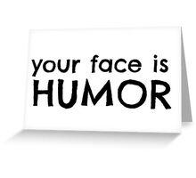 Funny Cool Joke Greeting Card