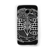 Seele Black Fancy Mandala Evangelion Logo Graphic Samsung Galaxy Case/Skin