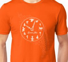 Dream time - Yellow Unisex T-Shirt