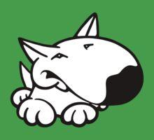 English Bull Terrier Cartoon 3 Baby Tee