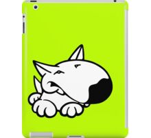 English Bull Terrier Cartoon 3 iPad Case/Skin