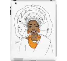 Nigerian Bride iPad Case/Skin