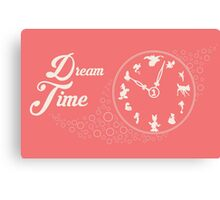 Dream time - Pink Canvas Print