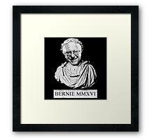 Bernie 2016 (Vintage Distressed Roman Bust) Framed Print