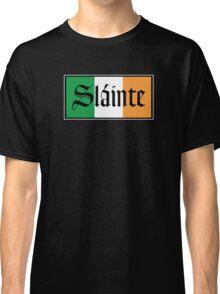 Slainte Irish Flag Classic T-Shirt