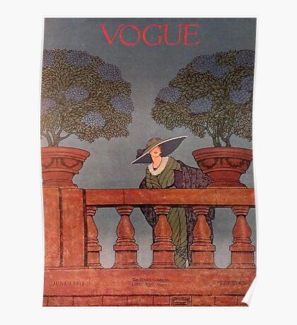 Vogue June 1912 Poster