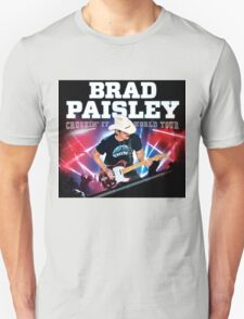 BRAD PAISLEY CRUSHIN IT WORLD TOUR 2016 T-Shirt
