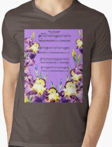 Waltz Of The Flowers Dancing Iris Mens V-Neck T-Shirt